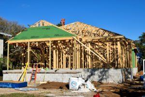 frame construction home