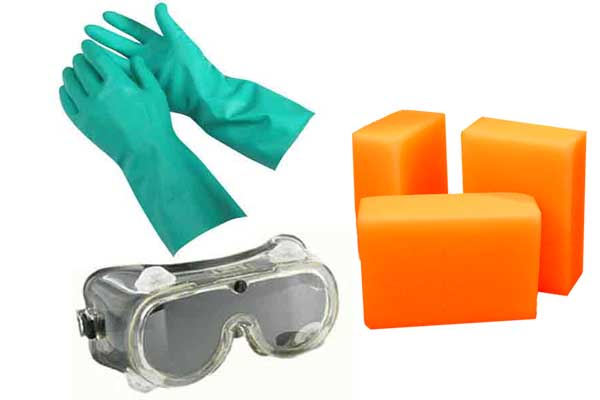 Soap Making Precautions and Safety Warnings