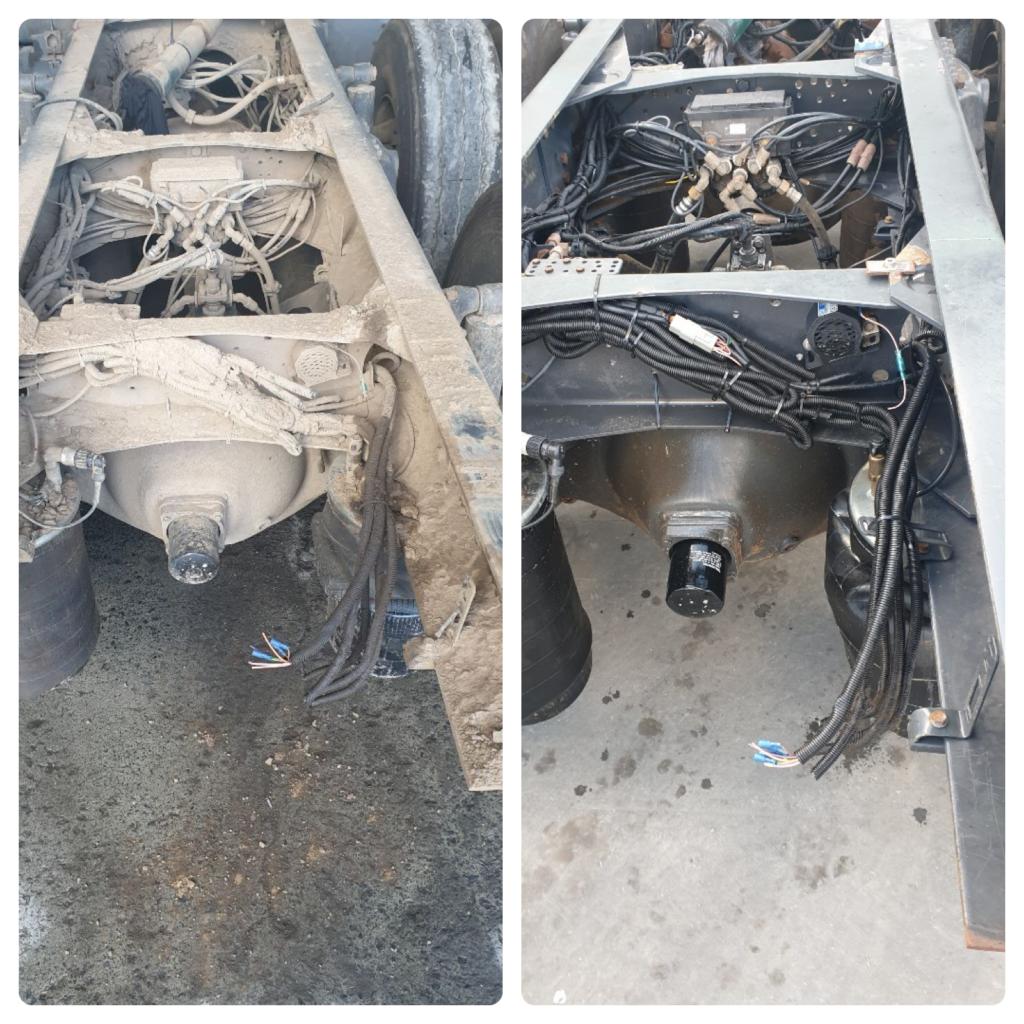 Truck Underbody Clean