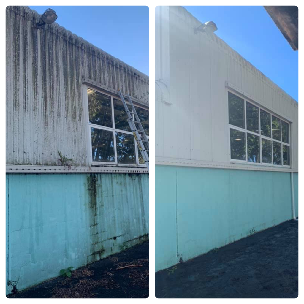 Commercial Building Exterior Cleaning