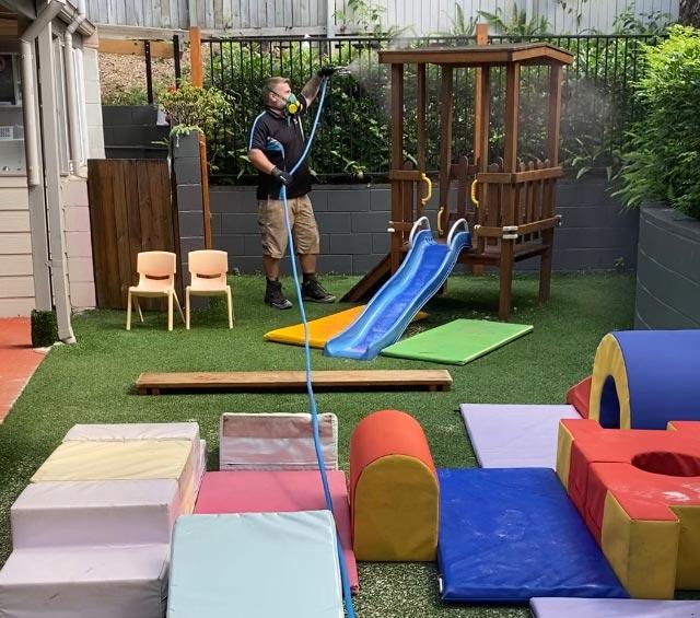 Sanitise Playgrounds Gold Coast