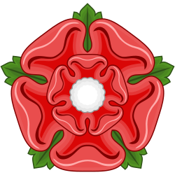 Red Rose Badge Of Lancaster