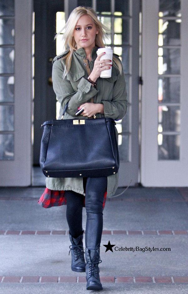Ashley-Tisdale-Fendi-Peekaboo-satchel