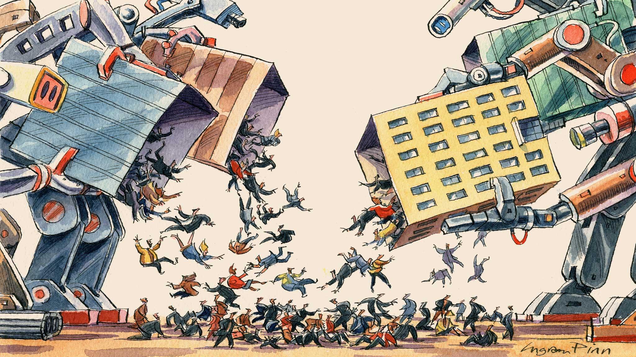 Robot mondo del lavoro