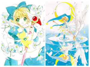 CardCaptor Sakura: Blue Jester and Alice Costumes