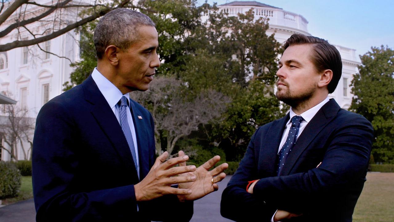 Leonardo DiCaprio a colloquio con Obama