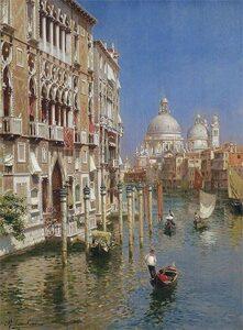 Il Canal Grande di Rubens Santoro