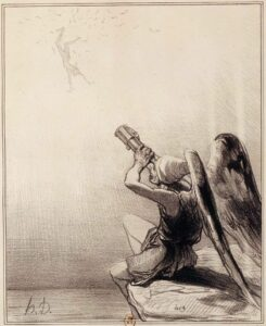 Icaro, Histoire Ancienne, Daumier