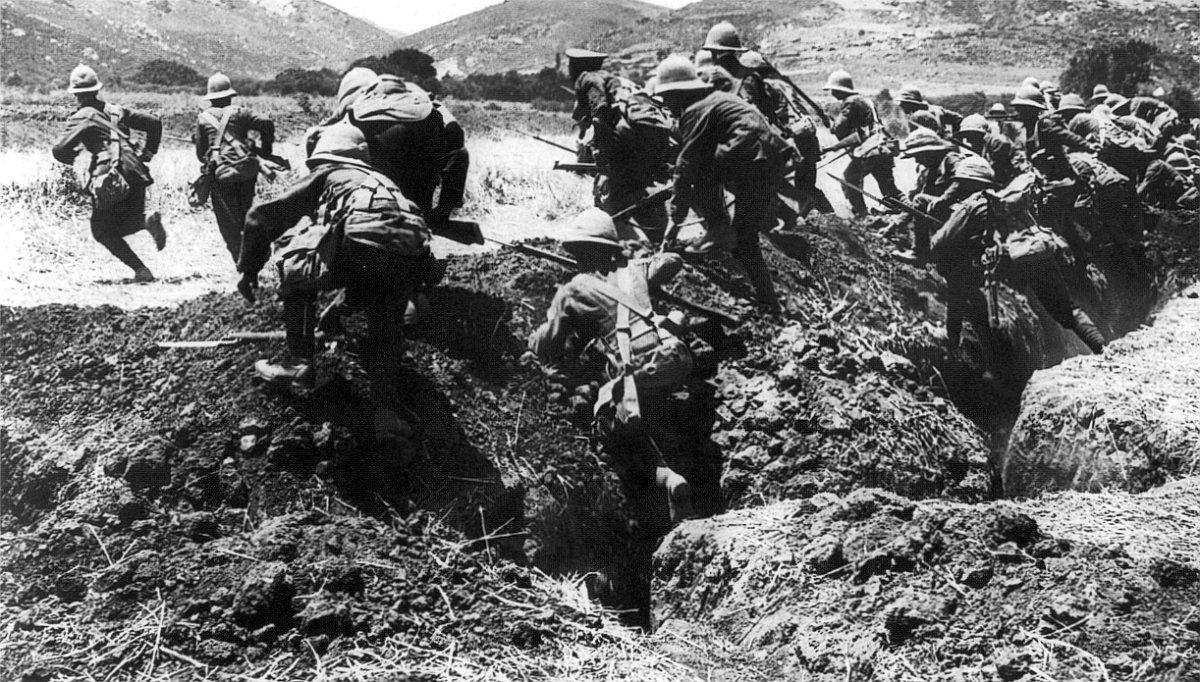 """""""1917"""": guerra"""