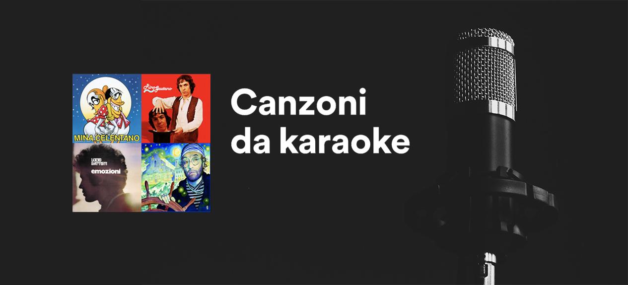 Playlist spotify karaoke