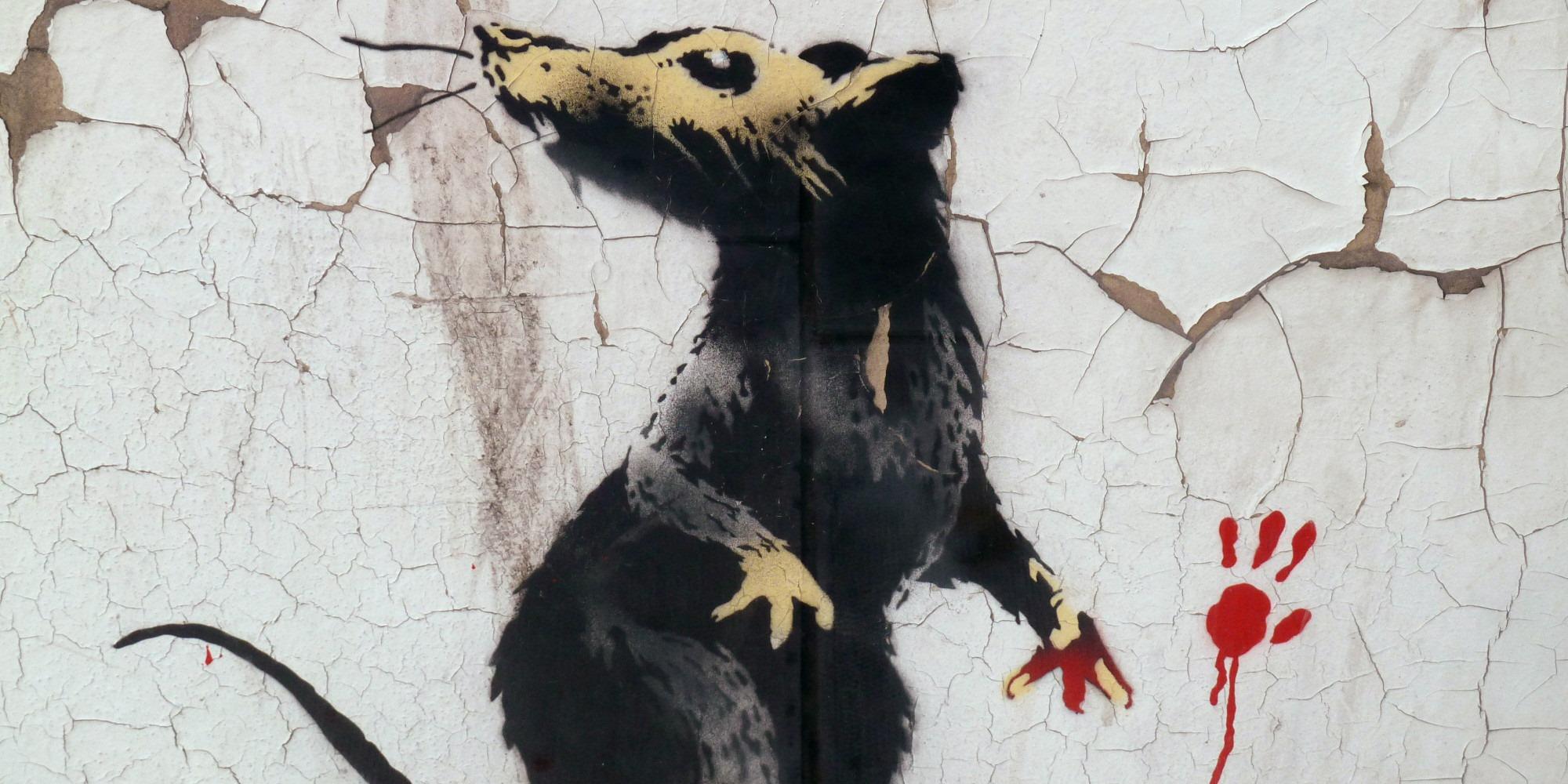 Banksy ratti