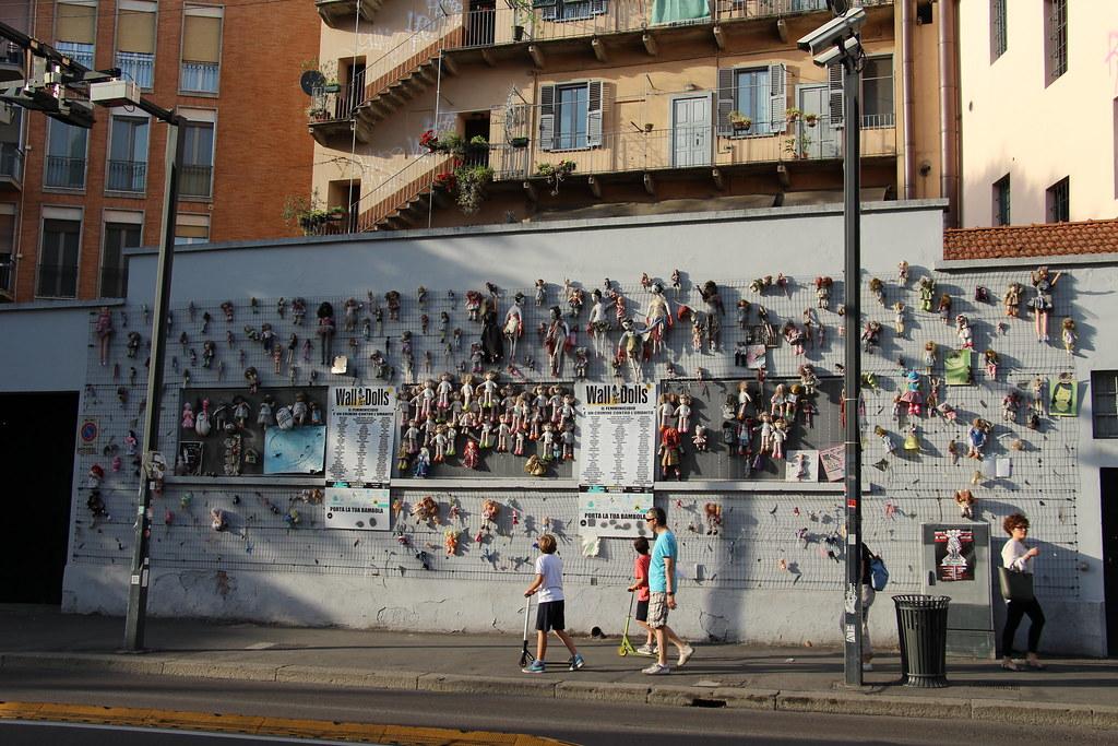incendio wall of dolls