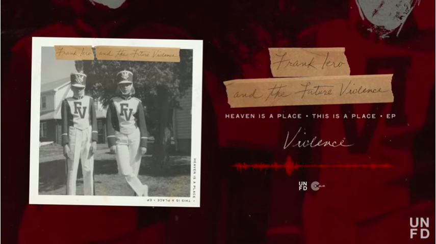 frank iero and the future violents, heaver is a place, this is a place