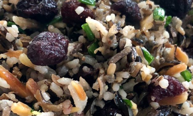 Holiday Wild Rice with Cranberries
