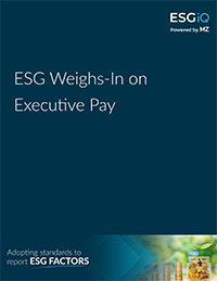ESG Weighs In on Executive Pay