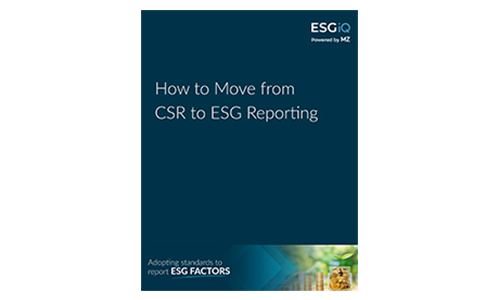 White Paper - How to Move from CSR to ESG Reporting