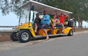 Golf cart rentals on Anna Maria Island