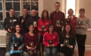 Award recipients at our 2019 Awards Dinner