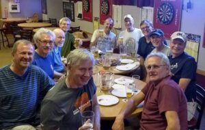 A few members of the Wednesday Evening Church Group. All Striders are welcome to join the group at no cost.
