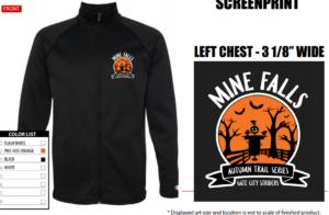 Mine Falls Autumn Trail Series Zip Sweatshirt