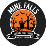 Mine Falls Autumn Trail Series Round Sticker