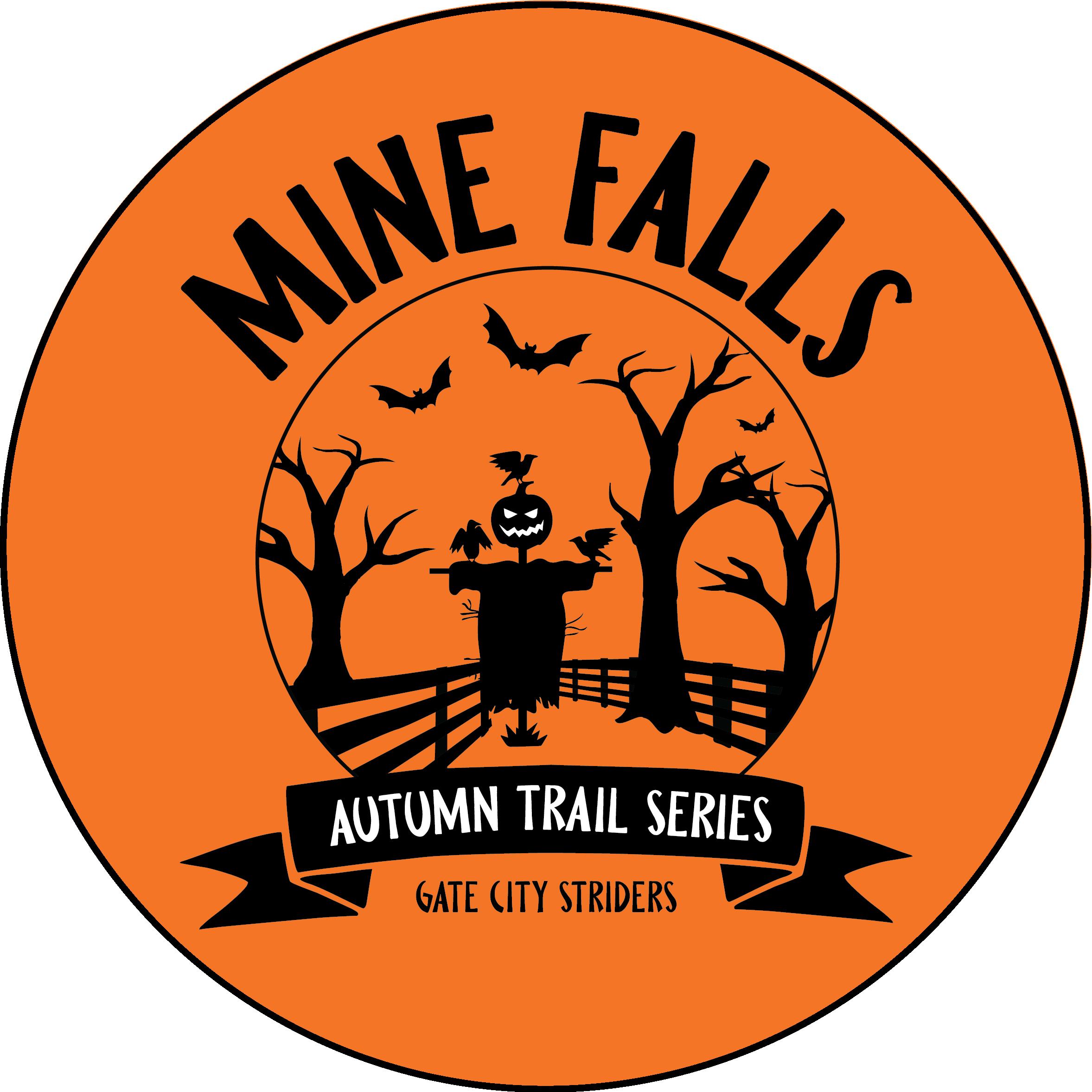 Mine Falls Autumn Trail Series Logo