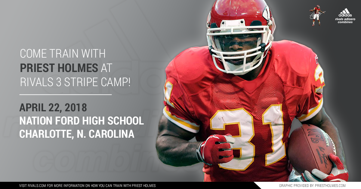Priest Holmes Rivals 3 Stripe Camp - Charlotte NC: Nation Ford High School | Priest Holmes Official Website