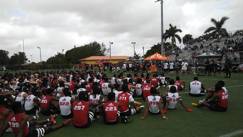 Participants | Rivals 3 Stripe Camp: Miami FL | Priest Holmes Blogs | Priest Holmes Media