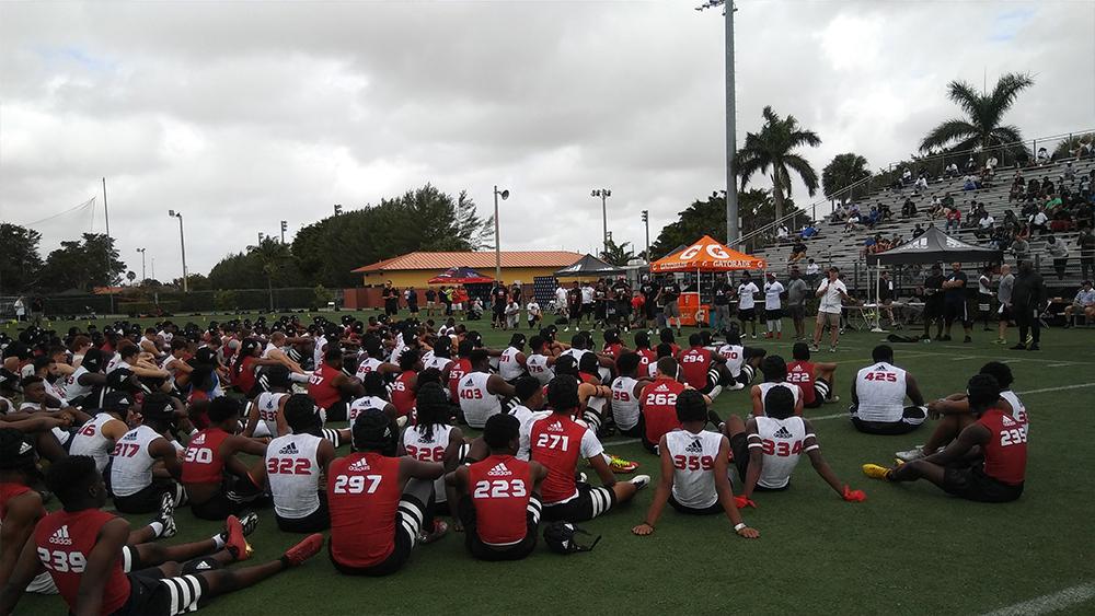 Participants | Rivals 3 Stripe Camp: Miami FL | Priest Holmes Blogs | Priest Holmes Media