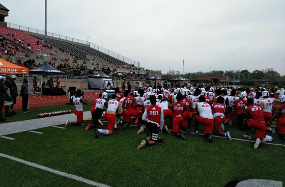 Priest Holmes, adidas, adizero, Dallas, NCSA, Parisi Speed School, Princeton Review, Professional Football, Ravens Running Back, Rivals, Rivals 3 Stripe Camps, Rivals Camp, Rivals Combine