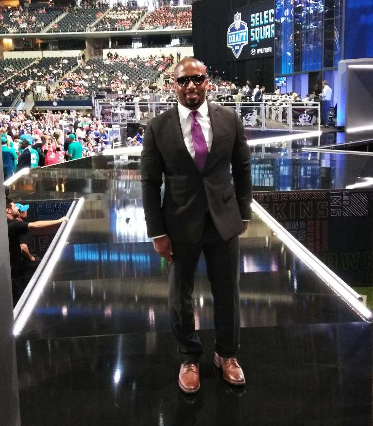 Priest Holmes, NFL Draft 2018, NFL Draft Second Round, Kansas City Chiefs, Kansas City Chiefs 2018 Draft