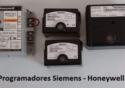 programadores Siemens -Honeywell