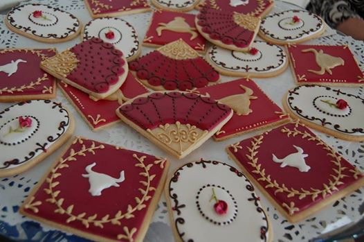 Carmen Opera Cookies by Emilie Steen