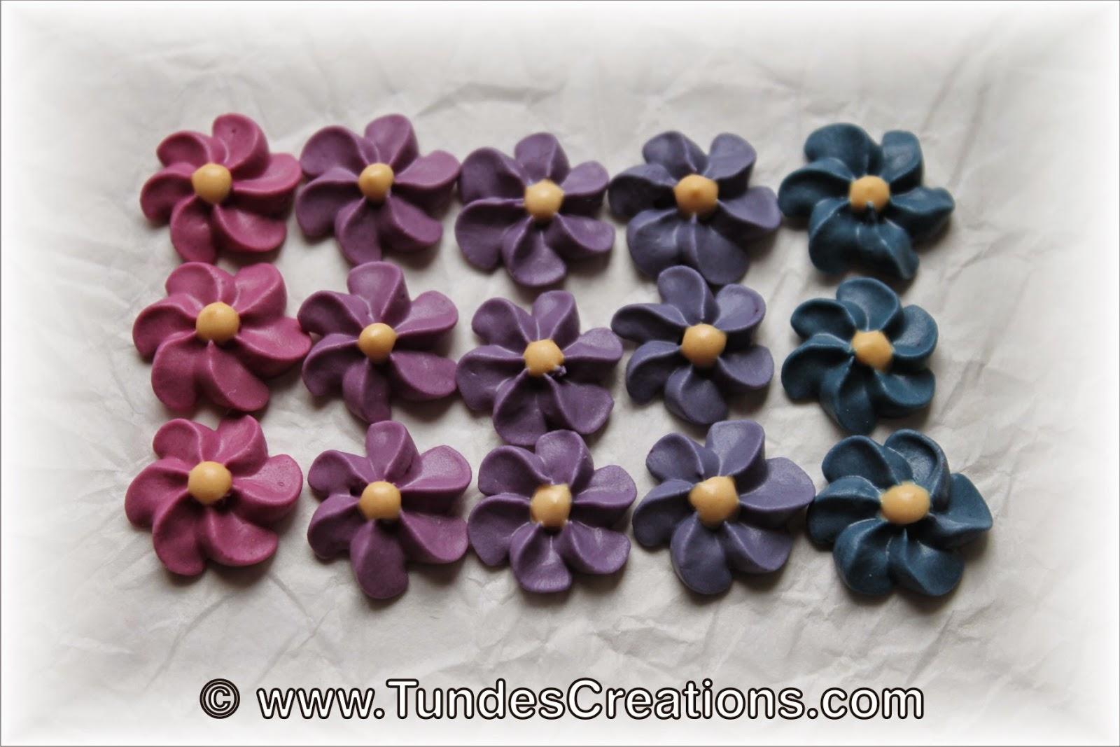 Purple Carrot Flower changes