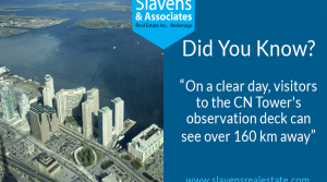 Did You Know? Views From The CN Tower
