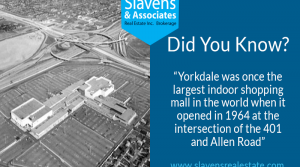 Did You Know? Yorkdale Mall Once The Largest