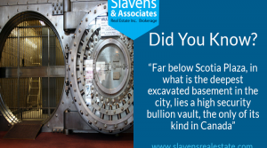Did You Know? Scotia Bank's Vault