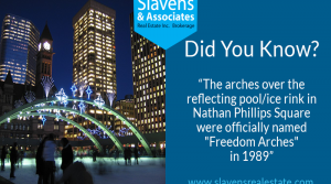 Did You Know? Toronto's Freedom Arches