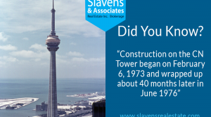 Did You Know? CN Tower Construction