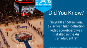 Did You Know? Air Canada Centre's Scoreboard