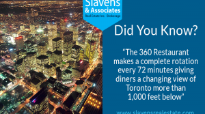 Did You Know? CN Tower's 360 Restaurant