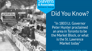 Did You Know? St. Lawrence Market