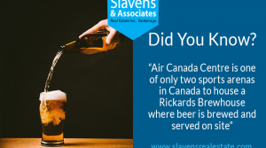 Did You Know? Air Canada Centre Brewhouse