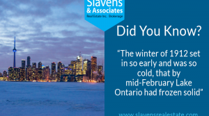 Did You Know? Lake Ontario Once Froze Solid