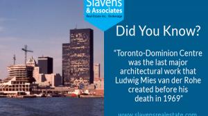 Did You Know? Toronto-Dominion Centre's Architect