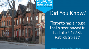 Did You Know? Toronto Has a House That's Been Sawed in Half