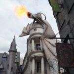 Gringotts Dragon at Universal Studios, Florida