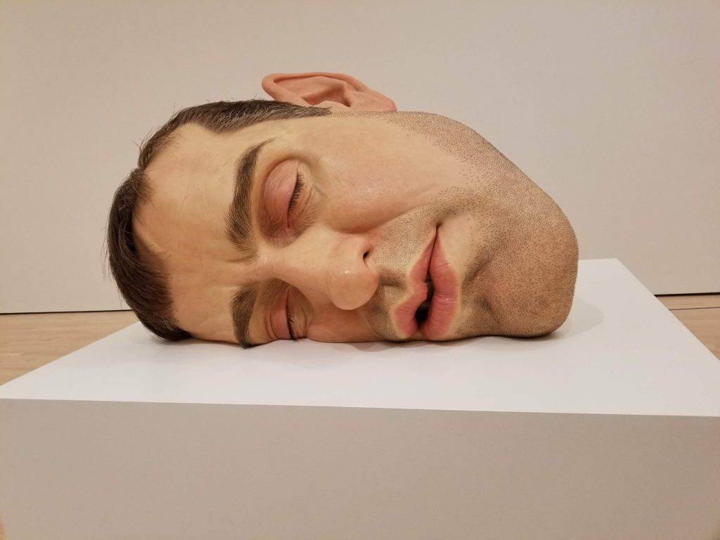 Ron Mueck, SF MOMA
