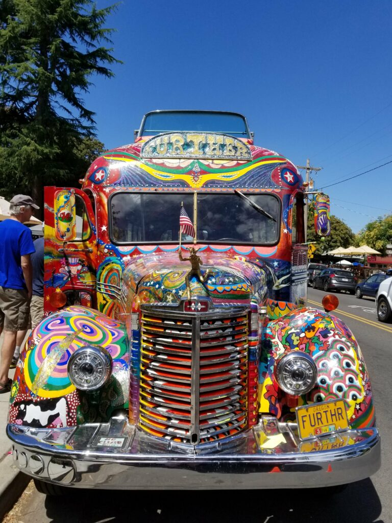 "Further, the ""Magic Bus"", Eugene, OR"