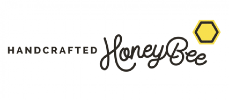 handcrafted honey bee